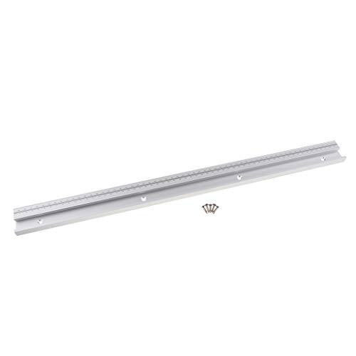 Preisvergleich Produktbild Homyl 600mm T-Track / T-Nut Gehrungsschiene aus Aluminiumlegierung