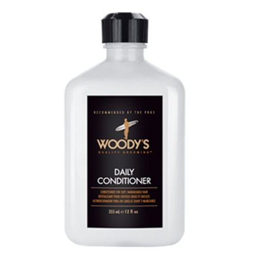 Woody's Daily Conditioner for Men, 12 Ounce by Woody's [Beauty] (English Manual)
