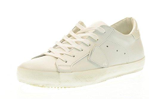 PHILIPPE MODEL Schuhe weibliche Turnschuhschuhe CLLD VE55 CLASSIC L U VEAU Weiß