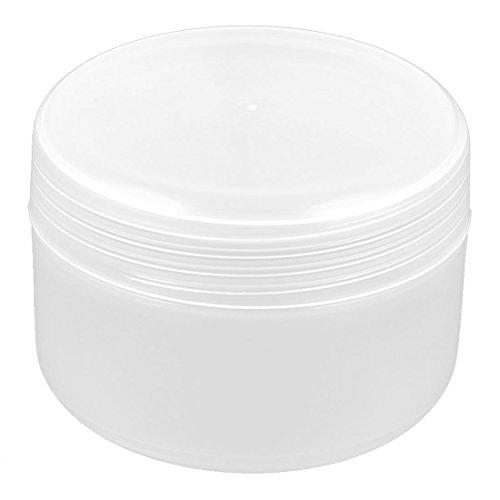 sourcingmap Cosmétique Maquillage plastique pot vide Pot Ombre paupières crème visage contenant Bouteille 100g