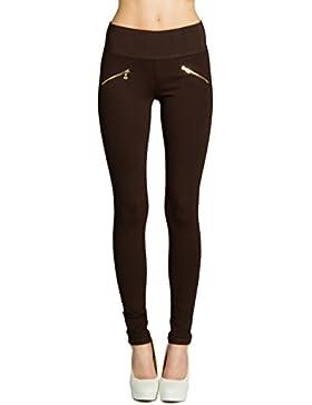CASPAR HLE008 Damen Stretch Leggings