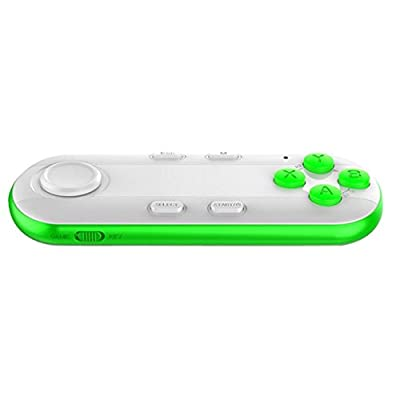 Veroda Multi-function Bluetooth Wireless Gamepad Remote Control for 3D VR PC White