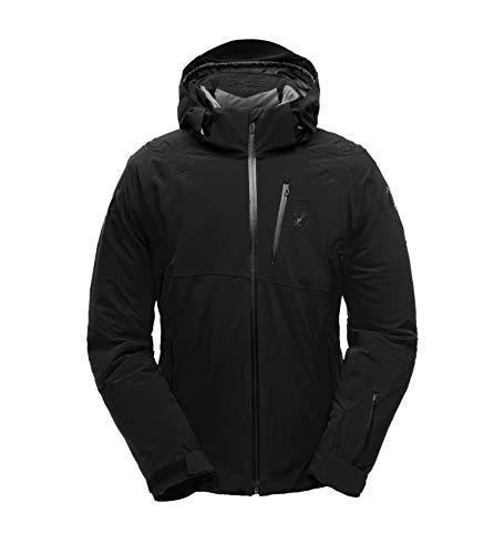 Spyder - Monterosa Herren Skijacke schwarz M Gore-tex Jacke-tab