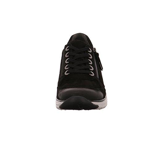 Gabor  76.973.47, Chaussure à lacets femme Noir