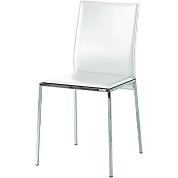 Metallo Fashion Commerce FC710 Set Sedie 50x40x90 cm 4 unit/à Beige