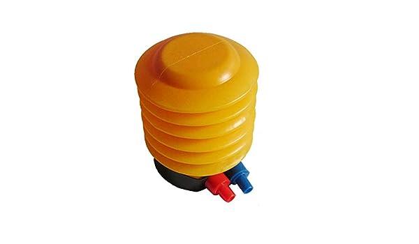 Hemore Pompe /à Ballon Yoga Boule Pied Pompe /à air Gonfleur Pompe /à Pied Ballon de Natation Gonflable Jouet dexercice Fitness Pompe /à Pied pour gonflables Jaune