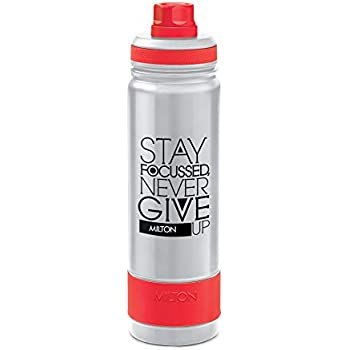 Milton Astir 750 Thermosteel Hot and Cold Water Bottle, 710 ml, Silver