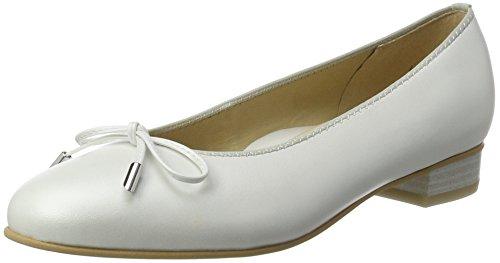 Ara Bari, Senhoras Fechado Bailarinas Branco (quase Branco-26)