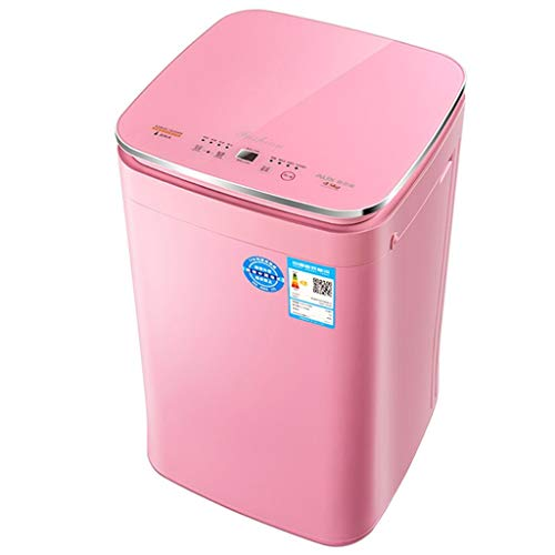 Waschmaschine, Vollautomatische Wäsche, 4,5 Kg Hochtemperaturwäsche, 24-Stunden-Vorreservierung, Sicherheitskindersicherung, Energiesparend Und Geräuscharm, LED, Geeignet Für Baby Und Unterwäsche