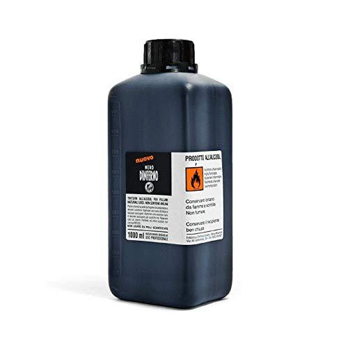 Nero D'Inferno - High Staining Leather Dye / Ink - 1000ml - Supplied By Graff-City (Dark Red) by Nero D'Inferno (Schwarz Permanent-textilfarbe)