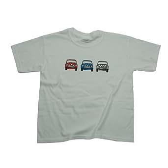 Children's Mini Cooper Italian Job T-Shirt White, 3-4