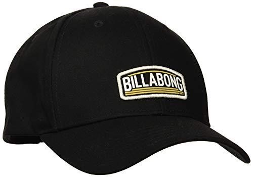 BILLABONG Herren Schirmmütze Flag Snapback, Black, One Size, N5CM52 BIP9 19 Billabong Black Hat