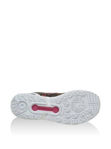 adidas Originals ZX Flux Damen Sneakers Schwarz (Core Black/Vivid Berry S14/Ftwr White)