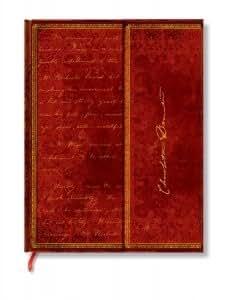 Paperblanks - Carnet Ultra - Série Les Manuscrits Estampés Modèle Brontë, Jane Eyre - Papier Ligné - Format : 180X230Mm - 144 Pages - Pblpb4319