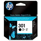 HP 301 - Cartucho de Tinta Original HP 301 Negro para HP DeskJet, HP OfficeJet y HP Envy