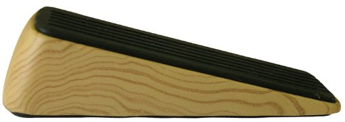 Shepherd Hardware 9333Designer Tür Keil, Holzmaserung, rutschhemmenden Gummi Boden Grip -