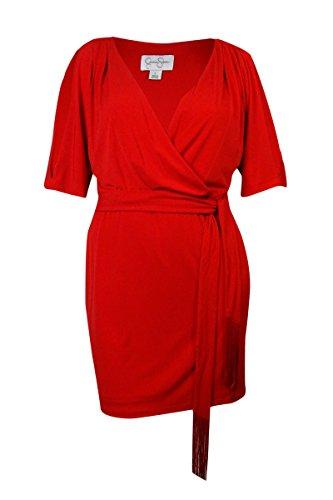 Fancy Jessica Simpson Jessica Simpson Women's 3/4 Sleeve Dolman Wrap Dress With Self Tie - Dolman Sleeve-wrap