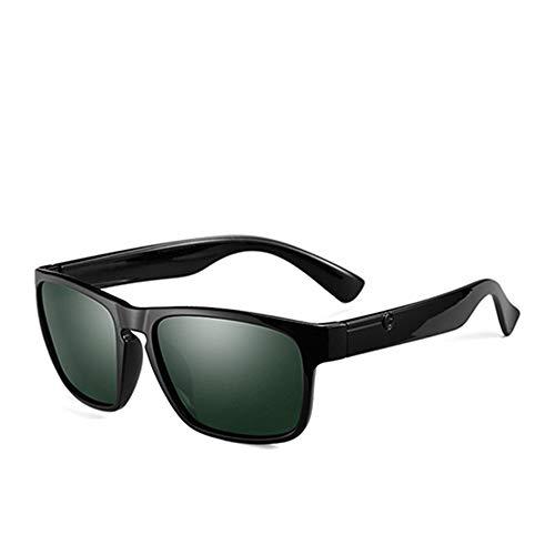 GGreenary Herrenfahrsonnenbrille Polarisierte Brille Sportbrillen Angeln Golfbrille Reisesonnenbrille (Lenses Color : C1 Black G15)