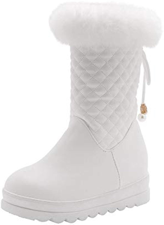 AdeeSu SXC03198, Sandali con Zeppa Donna, Bianco (bianca), 35 EU | A Basso Costo  | Uomini/Donne Scarpa