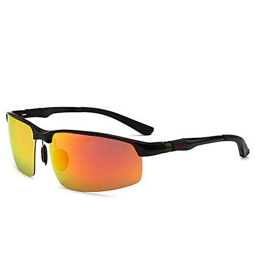 FYrainbow Polarisierte Sonnenbrille, Tag und Nacht Dual-Use-Fahren Sonnenbrille sind am besten geeignet für Angeln Golf Outdoor-Shopping TAC-Objektive UV400,C
