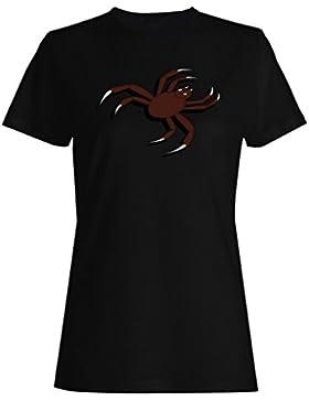 Nuevo Arte De La Araña De Arrastre camiseta de las mujeres i925f