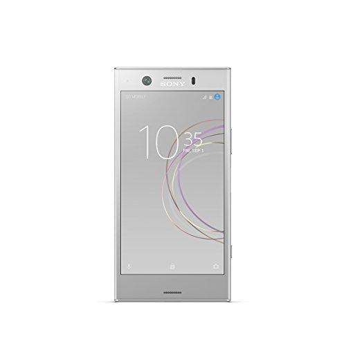 """Sony XZ1 Compact - Smartphone de 4.6"""" (Bluetooth, Octa Core, 4 GB de RAM, Memoria de 32 GB, cámara de 19 MP, Android), Blanco [Exclusivo Amazon]"""