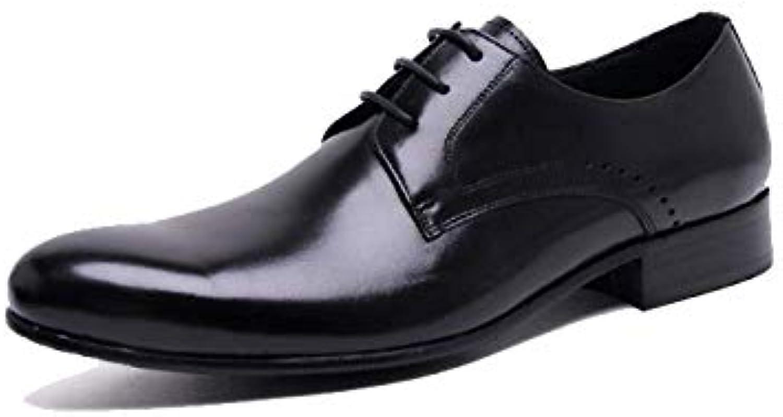 Scarpe da Uomo in Pelle A Punta Inglese Inghilterra Moda Comfort da Lavoro Traspirante Scarpe Basse in Pelle   Essere Nuovo Nel Design    Uomini/Donne Scarpa