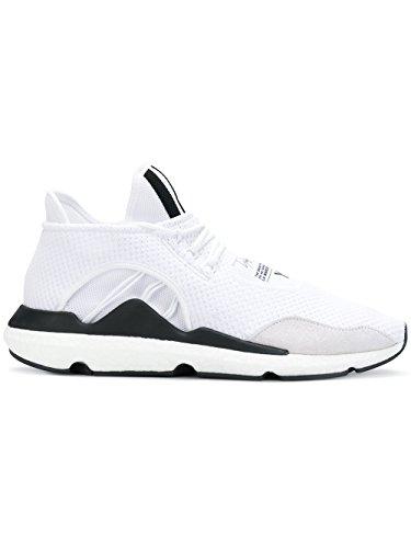 official photos d264e ffd39 adidas Y-3 Yohji Yamamoto Mens Ac7195 White Fabric Sneakers