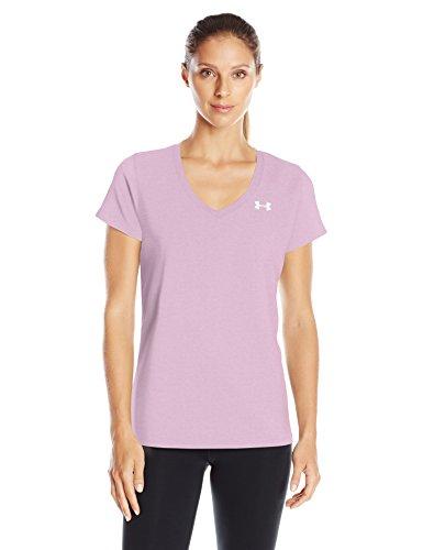 Under Armour Damen Tech Ssv-Twist Fitness-T-Shirts & Tanks, Icelandic Rose, XL