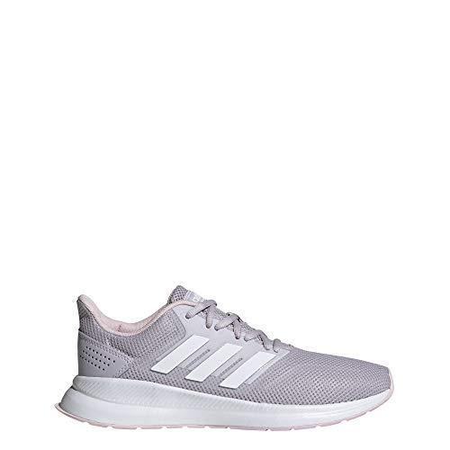 Adidas Runfalcon, Zapatillas de Running para Mujer, Multicolor Malva/Ftwbla/Ros Cl A 000, 36 EU