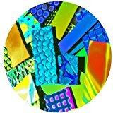 1-ounce dicroica Bits y piezas 96Coe fusible cristal, varios colores