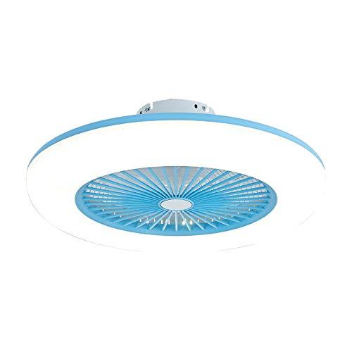 ADFD Ventilador De Techo LED Lámpara, Creative 80W Regulable Ventilador De Techo Invisible Lámpara...