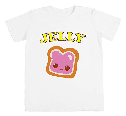 Couple - Peanut Butter & Jelly Unisex Kinder Jungen Mädchen T-Shirt Weiß Größe XL Unisex Kids Boys Girls's T-Shirt White Size XL