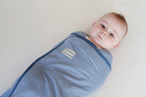 Pacco Puckhilfe, blau, Größe:Piccolo (4-7 kg)