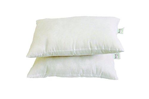 Recron Fiber Dream Pillow - 40 x 61 cm, White, 2 Piece