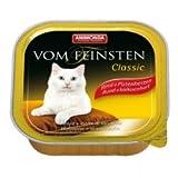 Animonda vom Feinsten Classic Putenherzen 100 g , Futter, Tierfutter, Nassfutter für Katzen