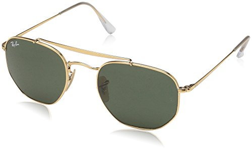 Ray-Ban RAYBAN 0RB3648 001 54 Montures de lunettes, Or (Gold/Green), Mixte Adul