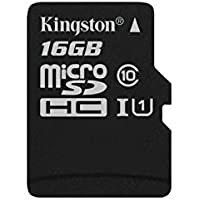 Kingston - SDC10G2/16GBSP - Carte MicroSD - 16 Go - Carte Seule