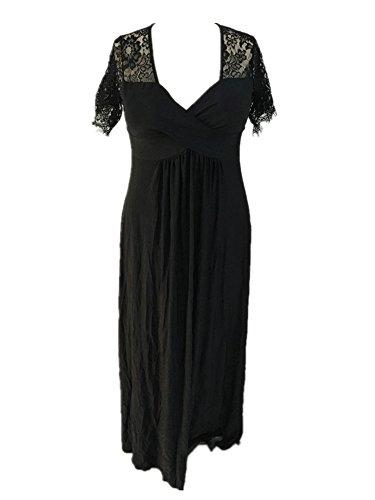 Cfanny - Robe - Cocktail - Femme Noir - Noir