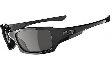 Oakley Men's Fives Squared Sunglasses, Black (Polished Black),