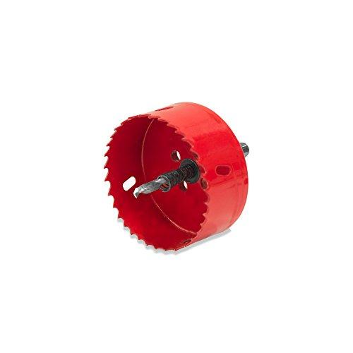 Elbe Trépan multi-matériaux Scie cloche de diamètre 80 mm pour découper des trous circulaires_ELS80