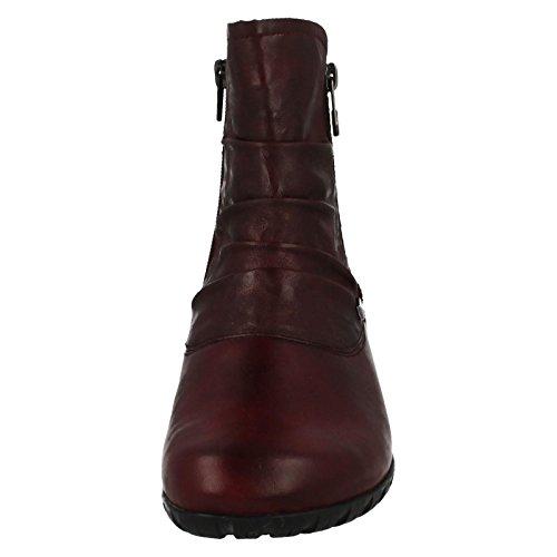 Rieker Frauen Z4663-35 Stiefel Rot Rot