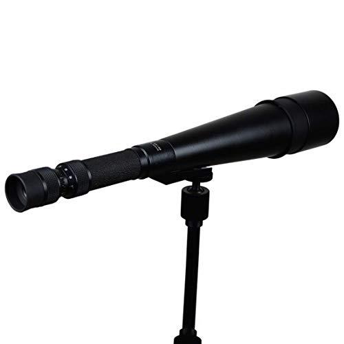LLG-DTWYJ Zoom Einzelauge 15-60x66 Zoom Hochleistungs-HD-Nachtsicht-Einrohr-Teleskop für die...
