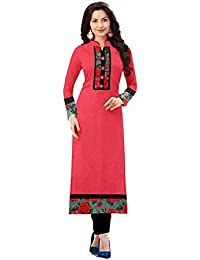 3faab28a84f Amazon.in  Pinks - Dress Material   Ethnic Wear  Clothing   Accessories