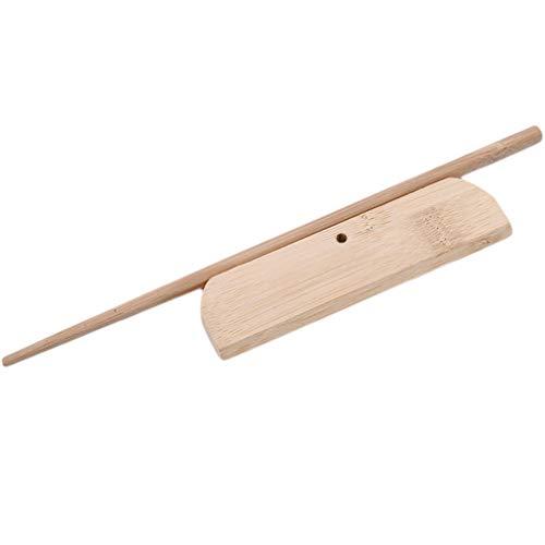 Jixing 1pcs Holzpfannkuchen/Crepe Spreader Pancake Teig Rake DIY Küchenwerkzeug