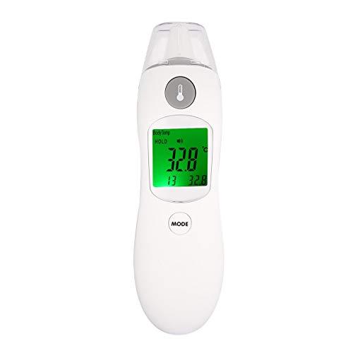 Ballylelly-ZK8809D Digital LCD IR Infrarot-Laser-Thermometer Berührungslose Körper Stirn Ohr Temperaturmessung Baby Erwachsene Wasserraum von