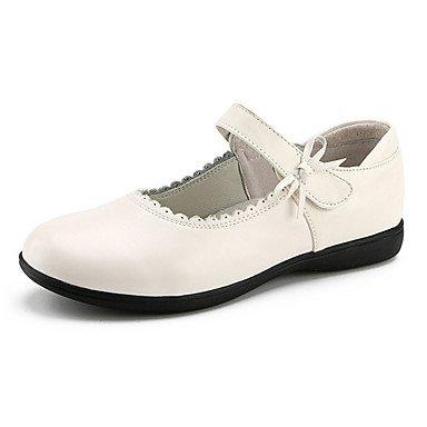 Wuyulunbi@ Donne's Dance Sneakers Real Sneaker Professional tacco basso Bianco Nero Noi13.5 / EU31 / UK12.5 bambini piccoli