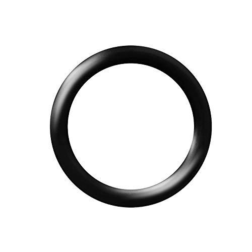 Piersando Ersatz Silikon Gummi O-Ring Ring Haltering Gummiring Stab Stecker Taper Dehner Expander Dehnstäbe 15,0mm schwarz -