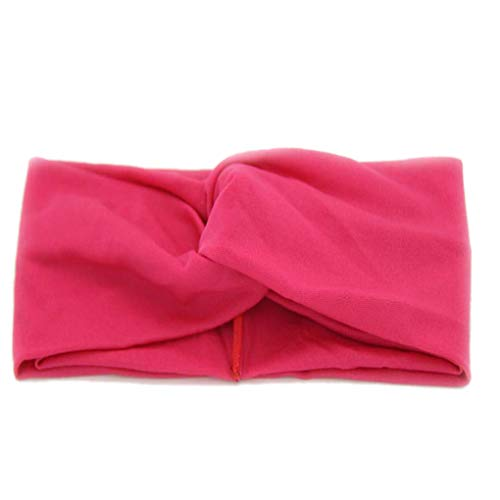 Provide The Best Women Silk Elastic Twist Head Bands Knotted Head Wrap Makeup Shower Everyday Headband Travel Casual Hairband
