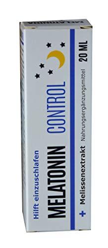 Natürliches Melatonin Extrakt aus Montmorency Sauerkirsche plus Melisse Extrakt, Spray, 20ml - verkürzt die Einschlafzeit, hilft einzuschlafen, schlaf suplement optimierer
